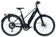 E-Bike QWIC RD11 Matte Black Trapez