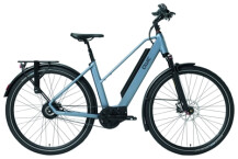 E-Bike QWIC MN380 Steel Blue Low step