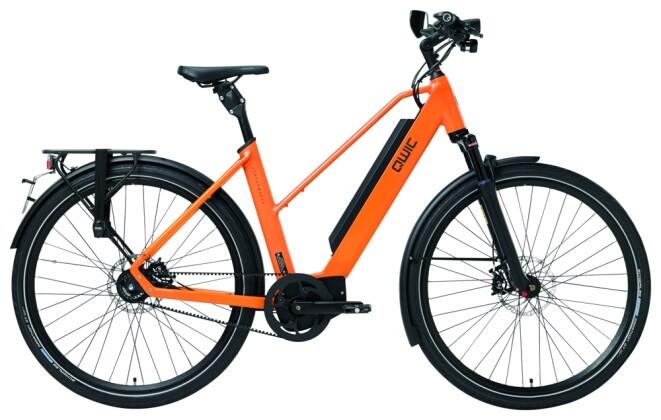 E-Bike QWIC MA11 Speed Dutch Orange Trapez 2020