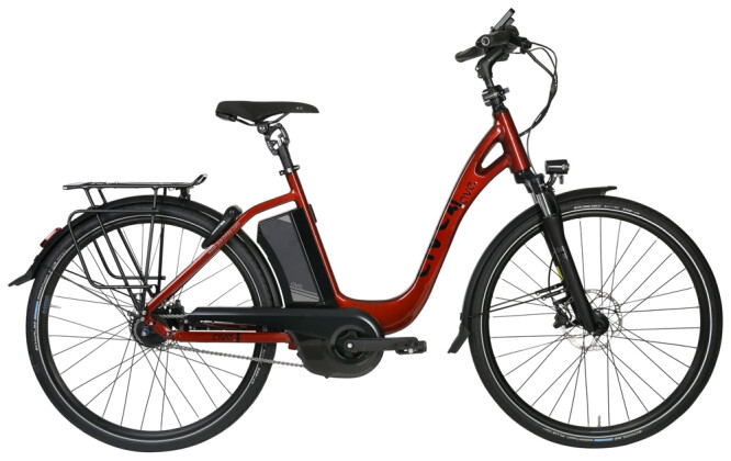 E-Bike AVE TH9 red low 2020