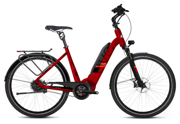 E-Bike AVE TH10 red low 2020