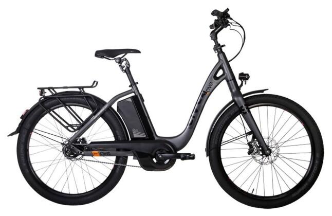 E-Bike AVE SH9 smoke grey low 2020