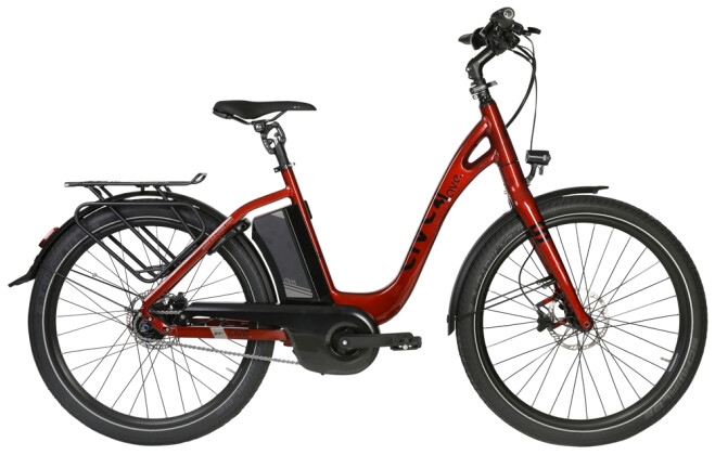 E-Bike AVE SH9 red low 2020