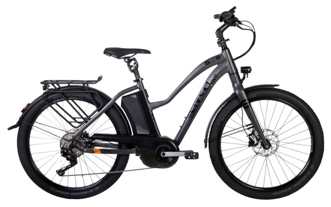 E-Bike AVE SH9 smoke grey lady 2020