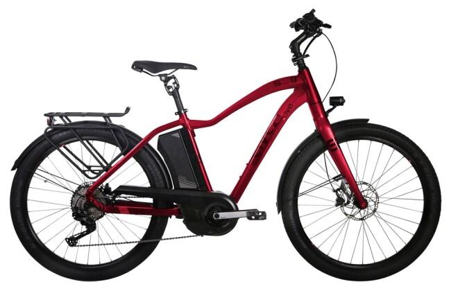 E-Bike AVE SH9 red gent 2020