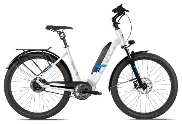 E-Bike AVE SH10 white low 2020
