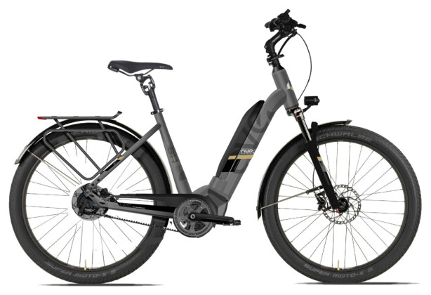 E-Bike AVE SH10 graphit low 2020