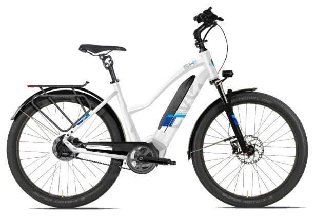 E-Bike AVE SH10 white lady 2020
