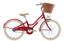 Kinder / Jugend Creme Cycles Mini Molly red