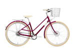 Citybike Creme Cycles Eve 8 burgrundy