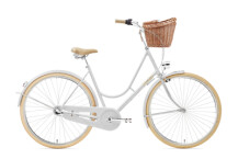 Citybike Creme Cycles Holymoly Lady Solo silver