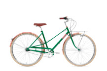 Citybike Creme Cycles Caferacer Lady Doppio sparkling emerald