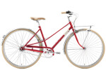 Citybike Creme Cycles Caferacer Lady Solo red