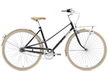 Citybike Creme Cycles Caferacer Lady Solo black sparkle