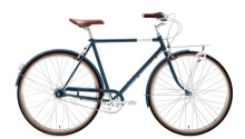 Citybike Creme Cycles Caferacer Man Doppio blue