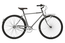 Citybike Creme Cycles Caferacer Man Solo silver