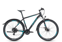 Mountainbike Grecos Big Foot schwarz