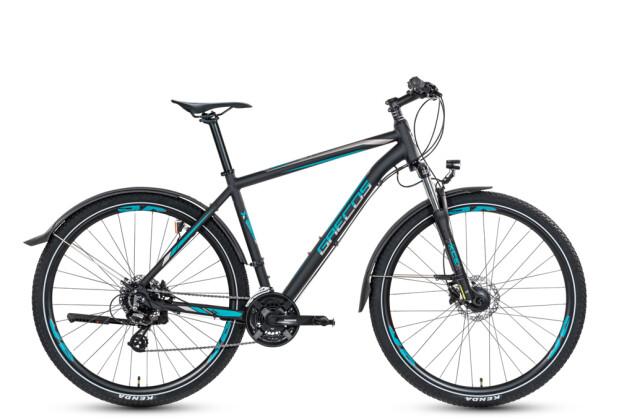 Mountainbike Grecos Big Foot schwarz 2020