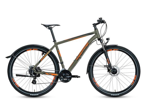 Mountainbike Grecos Big Foot grün 2020