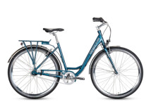 Trekkingbike Grecos Lightstream blau