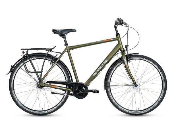 Trekkingbike Grecos Boston Diamant grün 2020