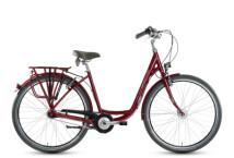Citybike Grecos Manhattan burgund