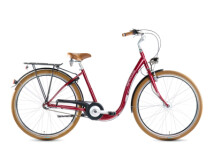 Citybike Grecos Venedig burgund