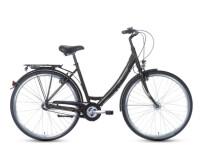 Citybike Grecos Nizza Mono schwarz