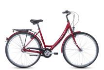 Citybike Grecos Nizza Mono rot