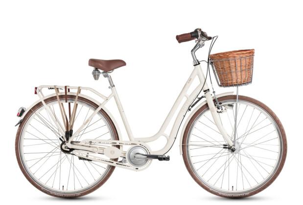 Citybike Grecos Clara weiss / braun 2020