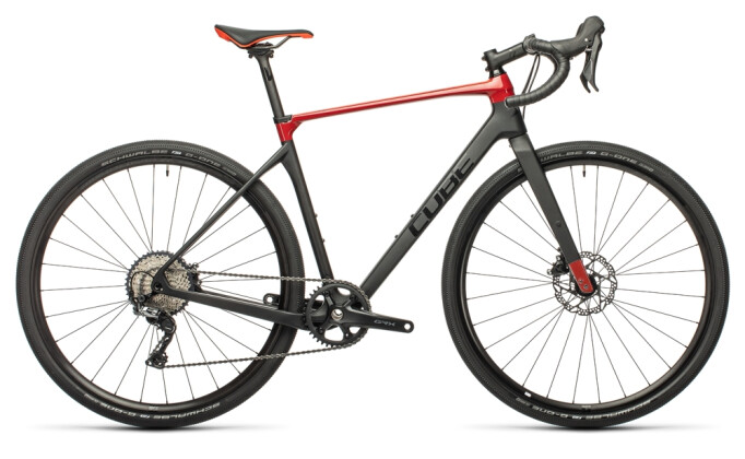 Race Cube Nuroad C:62 Pro carbon´n´red 2021
