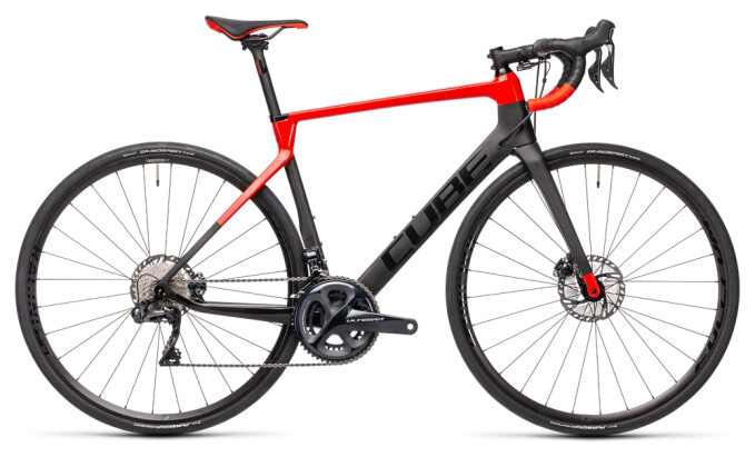 Race Cube Agree C:62 SL carbon´n´red 2021