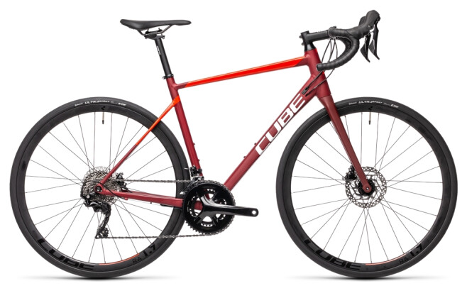 Race Cube Attain SL red´n´red 2021