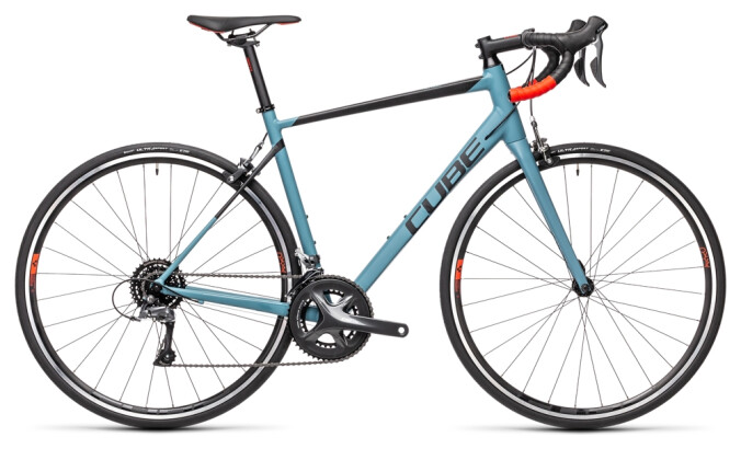 Race Cube Attain greyblue´n´red 2021