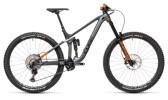 Mountainbike Cube Stereo 170 TM 29 flashgrey´n´orange