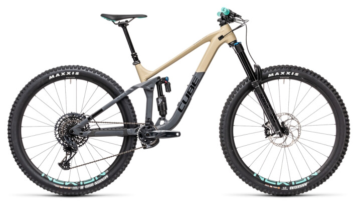 Mountainbike Cube Stereo 170 Race 29 desert´n´grey 2021
