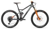 Mountainbike Cube Stereo 140 HPC TM 27.5 flashgrey´n´orange
