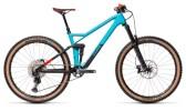 Mountainbike Cube Stereo 140 HPC Race 27.5 petrol´n´red