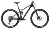 Mountainbike Cube Stereo 120 HPC SLT 29 carbon´n´red