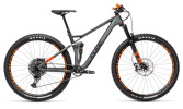 Mountainbike Cube Stereo 120 HPC TM 29 flashgrey´n´orange