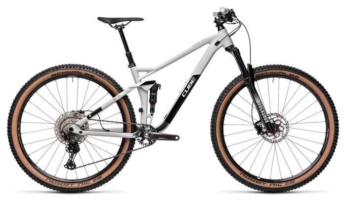 Mountainbike Cube Stereo 120 Race 29 lightgrey´n´black 2021
