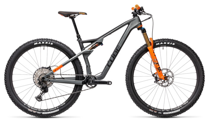 Mountainbike Cube AMS 100 C:68 TM 29 flashgrey´n´orange 2021