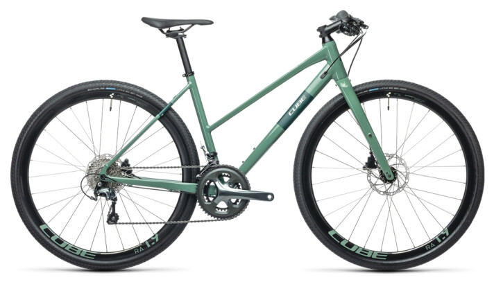 Urban-Bike Cube SL Road Pro greygreen´n´green 2021