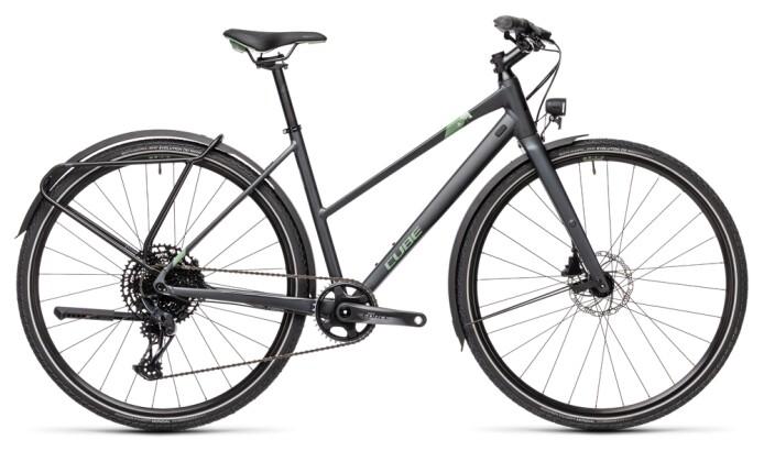 Trekkingbike Cube Travel Sport iridium´n´green 2021