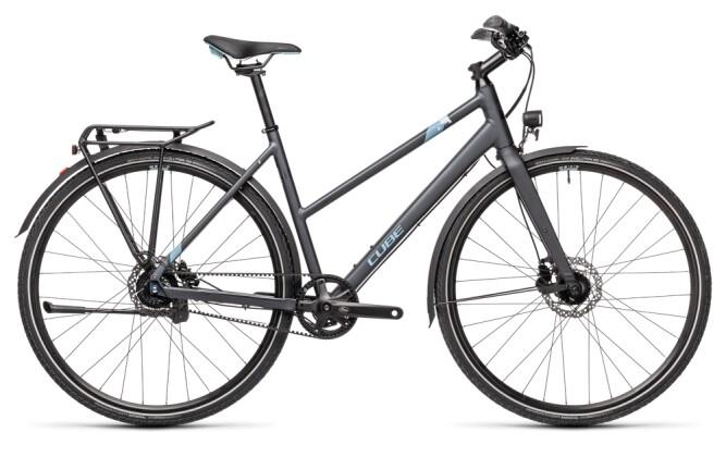 Citybike Cube Travel Exc iridium´n´blue 2021