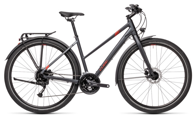 Trekkingbike Cube Travel iridium´n´red 2021