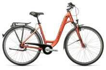 Citybike Cube Town Pro red`n´grey