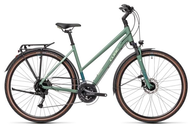 Trekkingbike Cube Touring EXC greenblue´n´bluegreen 2021