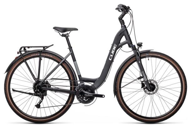 Trekkingbike Cube Touring EXC iridium´n´white 2021