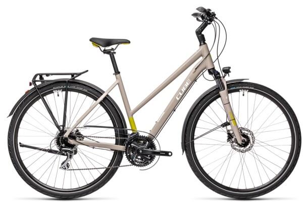 Trekkingbike Cube Touring Pro grey´n´green 2021